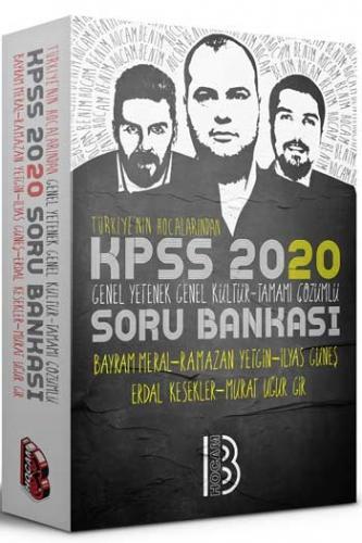 Benim Hocam Yayınları 2020 KPSS GY GK Tamamı Çözümlü Soru Bankası