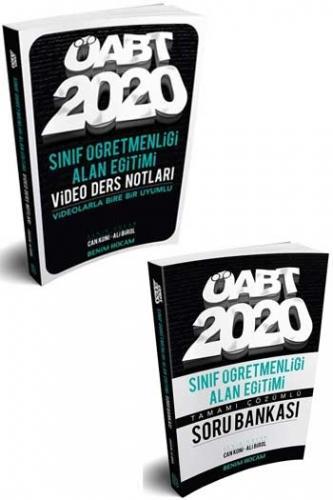 Benim Hocam Yayınları 2020 ÖABT Sınıf Öğretmenliği Alan Eğitimi Video Ders Notları + Soru Bankası Seti