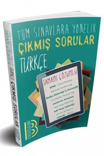 Benim Hocam Yayınları 2020 Tüm Sınavlara Yönelik Türkçe Konularına Göre Çıkmış Tamamı Çözümlü Sorular