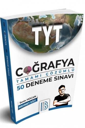 Benim Hocam Yayınları 2020 TYT Coğrafya Tamamı Çözümlü 50 Deneme Sınav