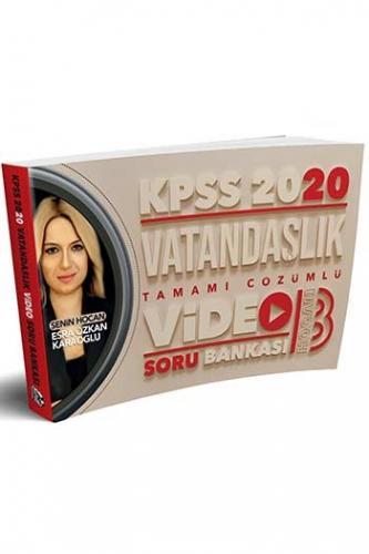 Benim Hocam Yayınları 2020 Vatandaşlık Tamamı Çözümlü Video Soru Banka