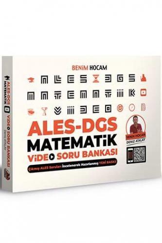 Benim Hocam Yayınları 2021 ALES DGS Matematik Video Soru Bankası Den