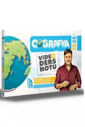 Benim Hocam Yayınları 2021 KPSS Coğrafya Video Ders Notu Mehmet Eğit
