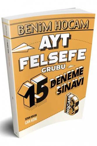 Benim Hocam Yayınları AYT Felsefe 15 Deneme Sınavı