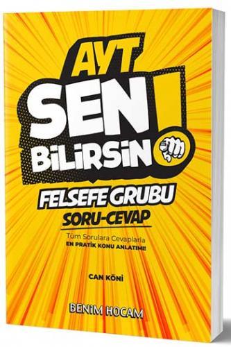 Benim Hocam Yayınları AYT Felsefe Sen Bilirsin Soru-Cevap Kitabı
