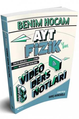 Benim Hocam Yayınları AYT Fizik Video Ders Notları %35 indirimli Barı