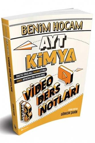 Benim Hocam Yayınları AYT Kimya Video Ders Notları
