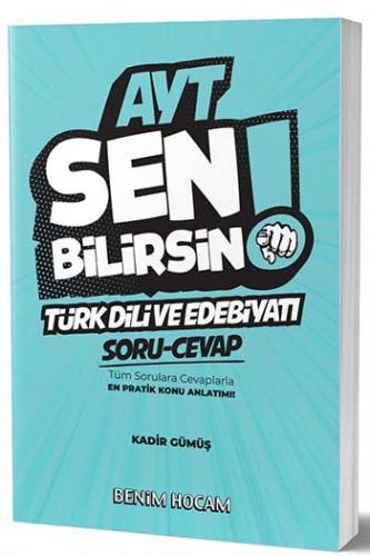 Benim Hocam Yayınları AYT Türk Dili ve Edebiyatı Sen Bilirsin Soru-Cev
