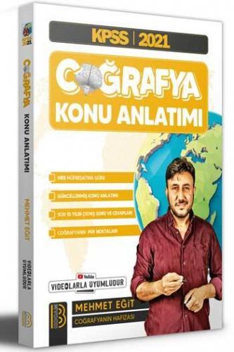 Benim Hocam Yayınları KPSS 2021 Coğrafya Konu Anlatımı Mehmet Eğit Meh