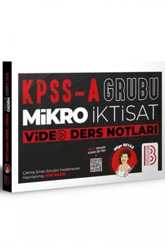 Benim Hocam Yayınları KPSS A Grubu Mikro İktisat Video Ders Notları B
