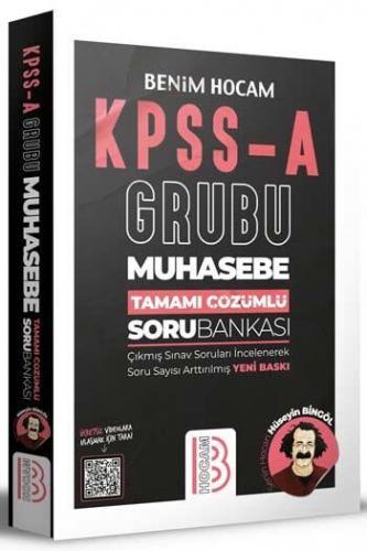 Benim Hocam Yayınları KPSS A Grubu Muhasebe Tamamı Çözümlü Bankası Hü