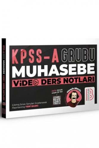 Benim Hocam Yayınları KPSS A Grubu Muhasebe Video Ders Notları Hüseyi
