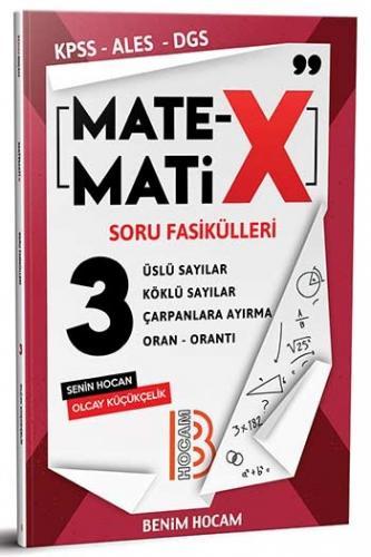 Benim Hocam Yayınları KPSS ALES DGS Matematix Soru Fasikülleri 3