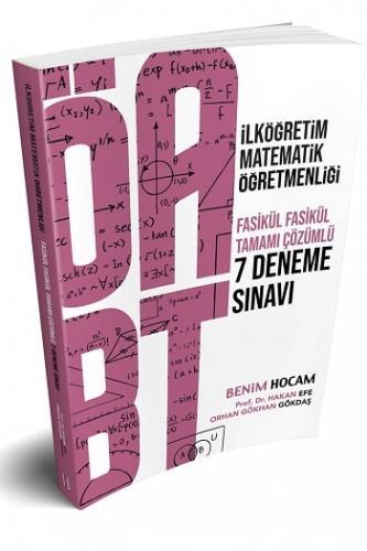 Benim Hocam Yayınları ÖABT İlköğretim Matematik Öğretmenliği Tamamı Çözümlü 7 Deneme Sınavı
