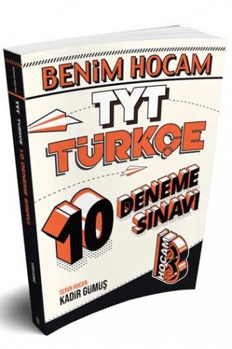 Benim Hocam Yayınları TYT Türkçe 10 Deneme Sınavı %35 indirimli Kadir