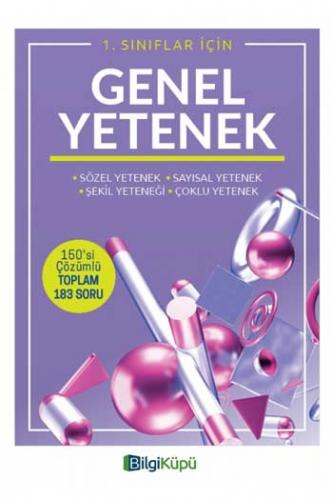 BilgiKüpü Yayınları 1. Sınıf Genel Yetenek