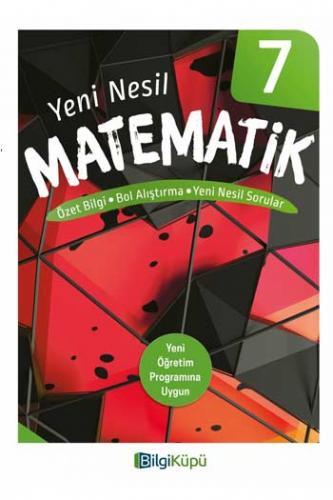 BilgiKüpü Yayınları 7. Sınıf Yeni Nesil Matematik