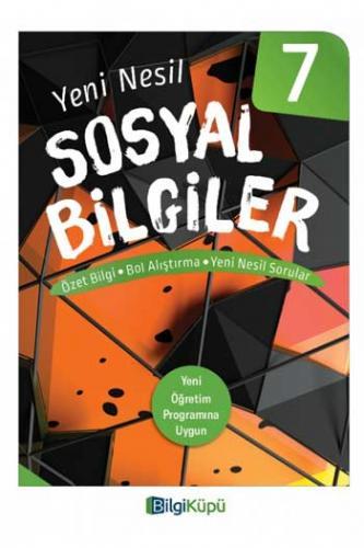 BilgiKüpü Yayınları 7. Sınıf Yeni Nesil Sosyal Bilgiler