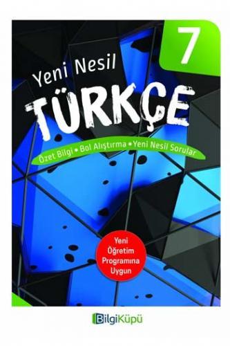 BilgiKüpü Yayınları 7. Sınıf Yeni Nesil Türkçe Komisyon