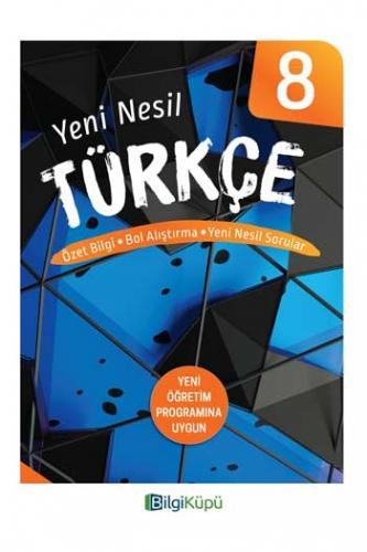 BilgiKüpü Yayınları 8. Sınıf Yeni Nesil Türkçe