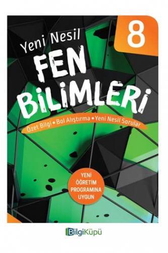 BilgiKüpü Yayınları 8. Sınıf Yeni Nesil Fen Bilimleri