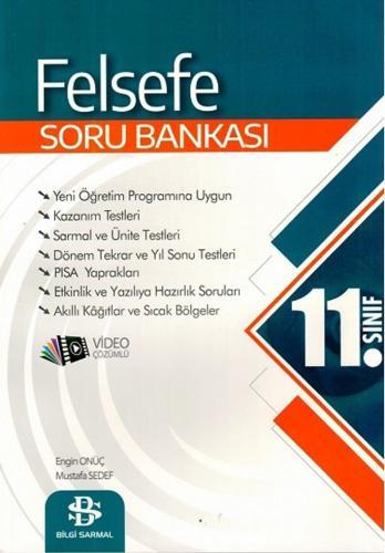 Bilgi Sarmal Yayınları 11. Sınıf Felsefe Soru Bankası