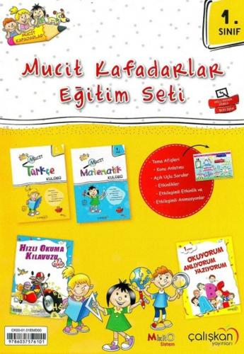 Çalışkan Yayınları 1. Sınıf Mucit Kafadarlar Eğitim Seti