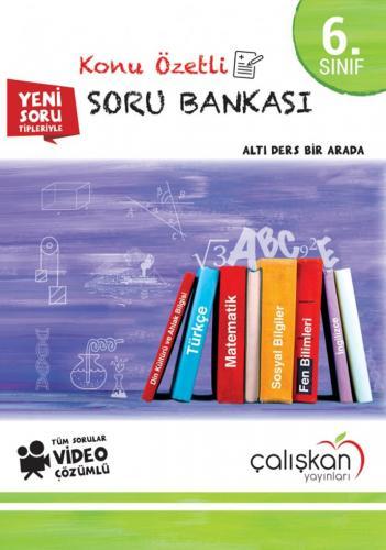 Çalışkan Yayınları 6. Sınıf Konu Özetli Soru Bankası