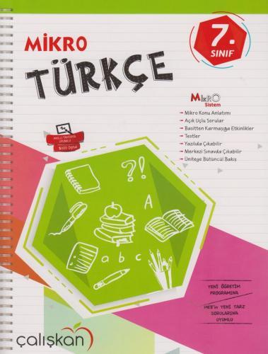 Çalışkan Yayınları 7. Sınıf Mikro Türkçe %25 indirimli Komisyon
