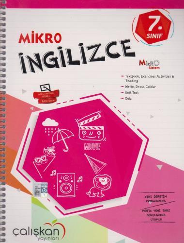 Çalışkan Yayınları 7. Sınıf Mikro İngilizce