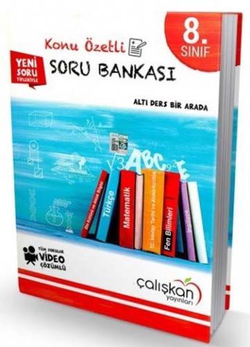 Çalışkan Yayınları 8. Sınıf Tüm Dersler Konu Özetli Soru Bankası