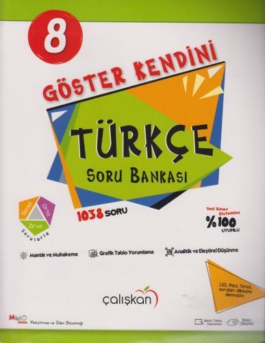 Çalışkan Yayınları 8. Sınıf Türkçe Göster Kendini Soru Bankası %20 ind