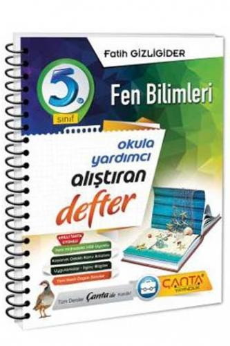 Çanta Yayınları 5. Sınıf Fen Bilimleri Alıştıran Defter