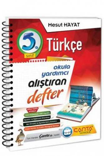 Çanta Yayınları 5. Sınıf Türkçe Alıştıran Defter
