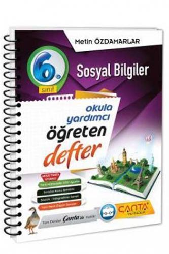 Çanta Yayınları 6. Sınıf Sosyal Bilgiler Öğreten Defter