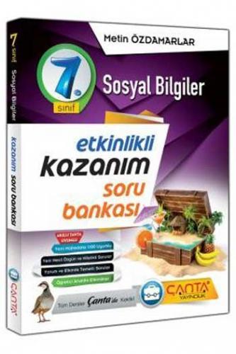 Çanta Yayınları 7. Sınıf Sosyal Bilgiler Etkinlikli Kazanım Soru Bankası