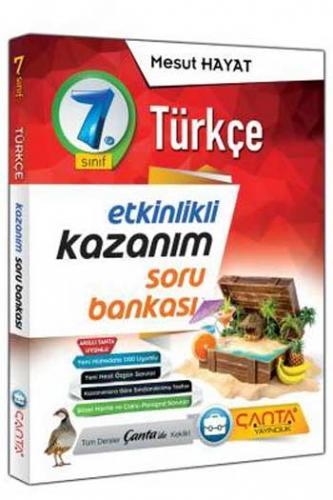 Çanta Yayınları 7. Sınıf Türkçe Etkinlikli Kazanım Soru Bankası