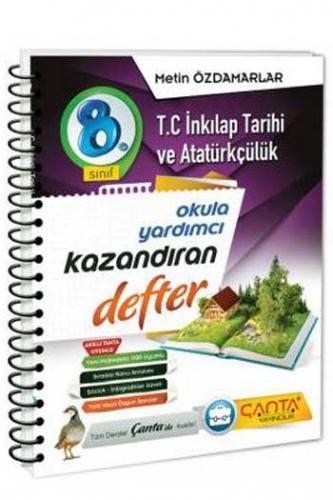 Çanta Yayınları 8. Sınıf T.C. İnkılap Tarihi ve Atatürkçülük Kazandıran Defter