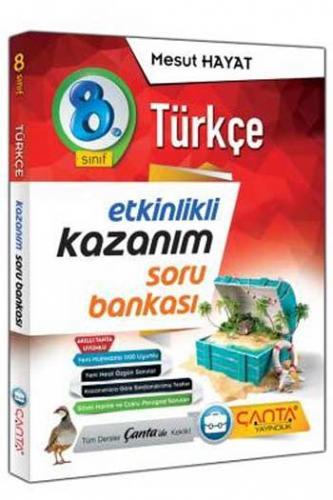 Çanta Yayınları 8. Sınıf Türkçe Etkinlikli Kazanım Soru Bankası