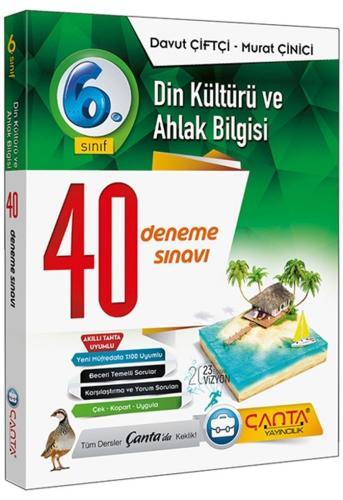Çanta Yayınları 6. Sınıf Din Kültürü ve Ahlak Bilgisi 40 Deneme