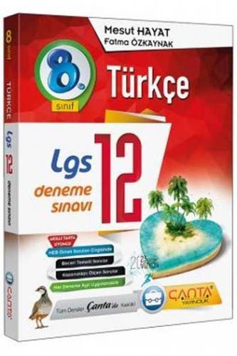 Çanta Yayınları 8. Sınıf LGS Türkçe 12 Deneme