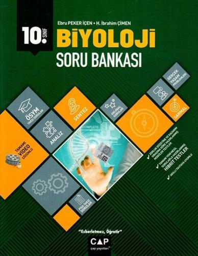 Çap Yayınları 10. Sınıf Anadolu Lisesi Biyoloji Soru Bankası