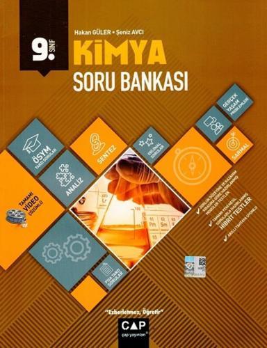 Çap Yayınları 9. Sınıf Anadolu Lisesi Kimya Soru Bankası