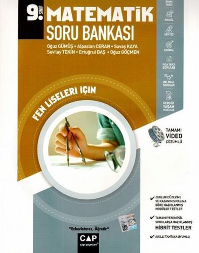 Çap Yayınları 9. Sınıf Fen Lisesi Matematik Soru Bankası