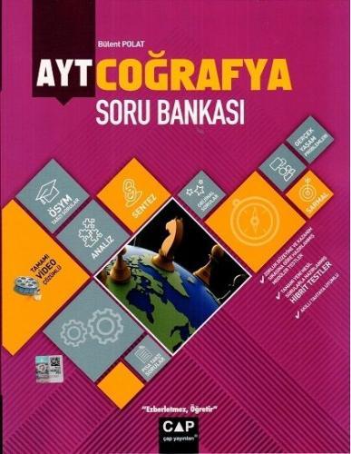 Çap Yayınları AYT Coğrafya Soru Bankası Bülent Polat