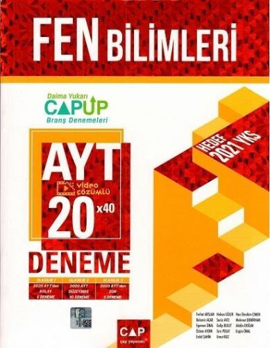 Çap Yayınları AYT Fen Bilimleri 20 x 40 Up Deneme Komisyon