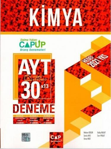 Çap Yayınları AYT Kimya 30 x 13 Up Deneme Hakan Güler