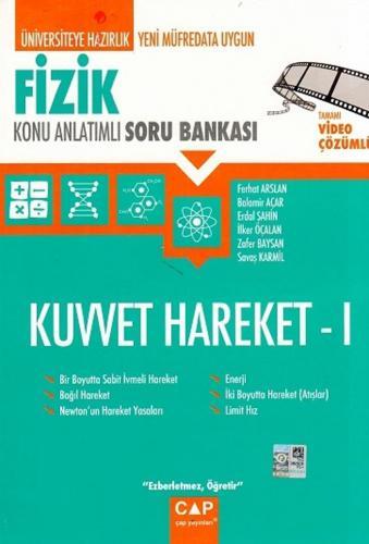 Çap Yayınları Fizik Kuvvet Hareket 1 Konu Anlatımlı Soru Bankası