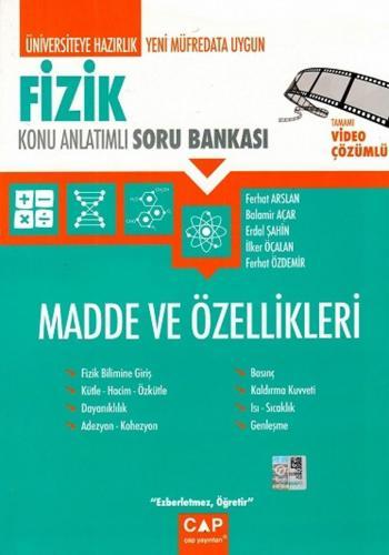 Çap Yayınları Fizik Madde ve Özellikleri Konu Anlatımlı Soru Bankası