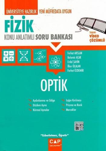 Çap Yayınları Fizik Optik Konu Anlatımlı Soru Bankası